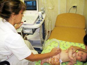 Ультразвуковое исследование тазобедренных суставов у новорожденных детей